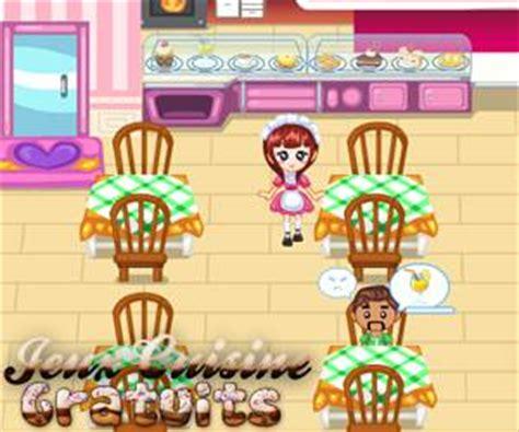 jeux de fille cuisine serveuse jeux de serveuse
