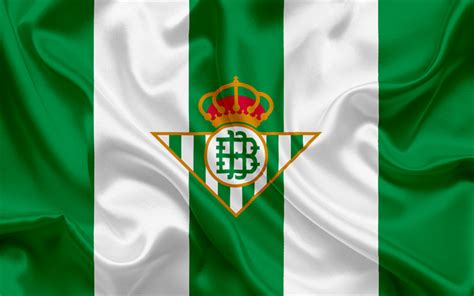 Download wallpapers Real Betis, football club, emblem ...