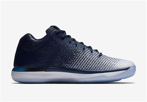 Air Jordan 31 Low Unc Midnight Navy Release Date