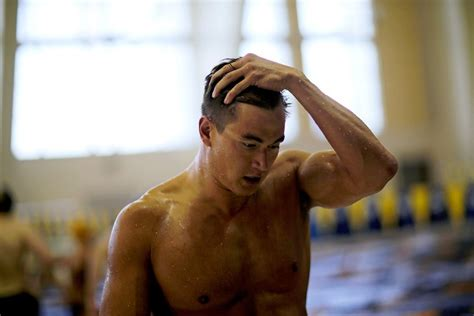 nathan adrian heads   olympic swimming trials