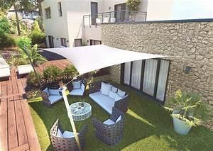 Voile D Ombrage Gifi : voile d 39 ombrage rectangle 3 x 4 5m ~ Melissatoandfro.com Idées de Décoration