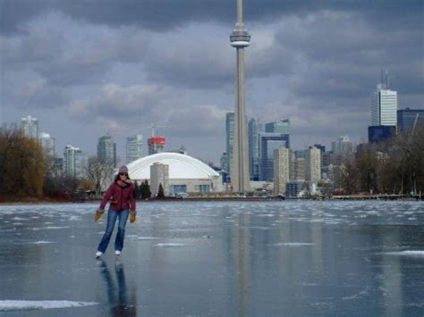 skating  lake ontario  hardy adventure toronto star