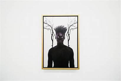 Damon Davis Afro Surrealist Surrealism Prayer Darker