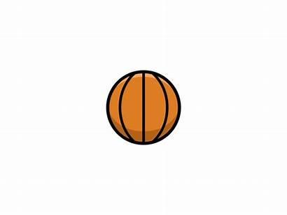 Basketball Dribbble Rotating