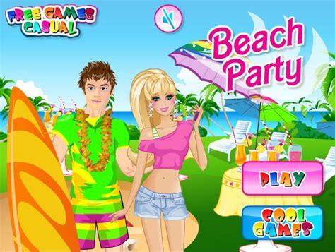 Juego De Vestirbarbie And Ken En La Playa  Juegos Para