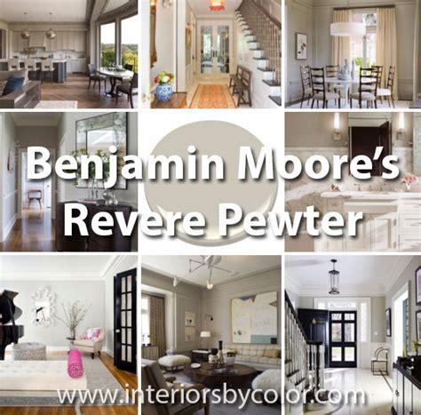 12 rooms painted in benjamin revere pewter