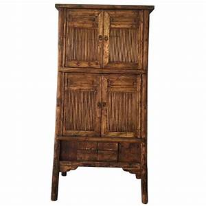Armoire Chinoise Ancienne Bambou