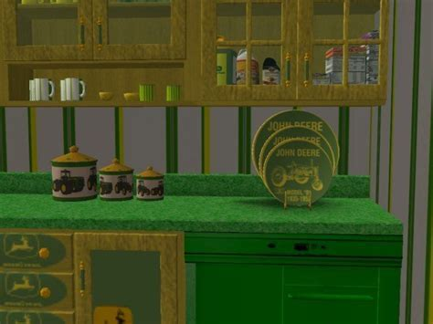 Mod The Sims   John Deere Kitchen and Dining set(RGiles