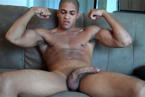 latino amateur jacking off his long dick