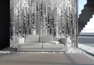 wohnzimmer mit streifen schwarz wei grau wandgestaltung wohnzimmer weiß kreative wohnideen für moderne wandgestaltung und farbgestaltung