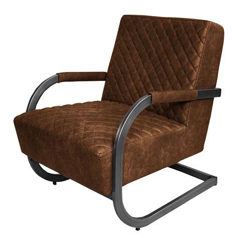 fauteuil cisco aspect cuir vieilli marron neutre ars manufacti previtech