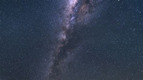 Death Valley Milkyway 06 Time Lapse Night Sky Stock