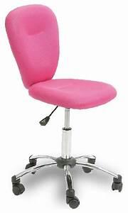 Chaise De Bureau Moderne : chaise de bureau apollo couleur rose moderne chaise de ~ Teatrodelosmanantiales.com Idées de Décoration