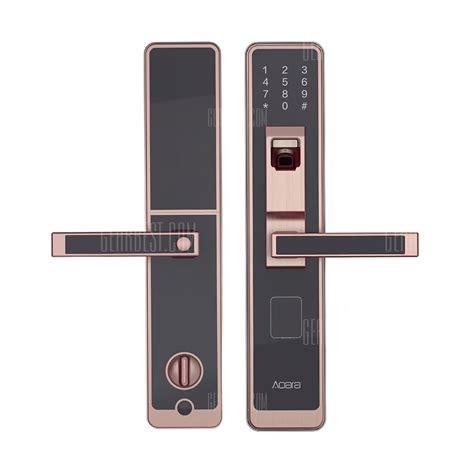 serrure connectee aqara smart door touch lock  home
