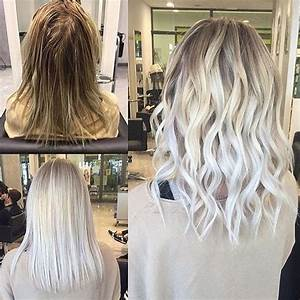 Ombre Hair Blond Polaire : get a platinum blonde hair color dye to look seductive ~ Nature-et-papiers.com Idées de Décoration