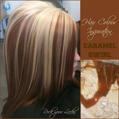 caramel  blonde colour inspiration rock  locks