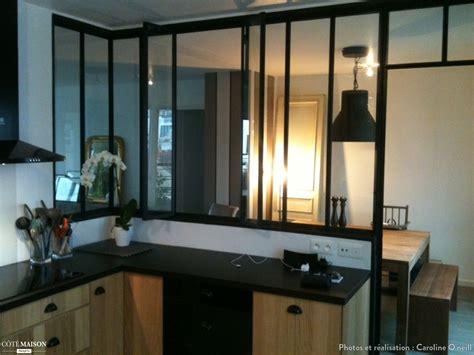 verriere entre cuisine et salle à manger création d 39 une verrière entre la cuisine et le living caroline o 39 neill côté maison