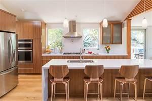 Cuisine En Teck : meuble cuisine en bois massif meubles de cuisine rouge ~ Edinachiropracticcenter.com Idées de Décoration