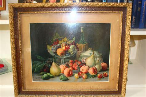 estimation peinture pastel tableau de  falchetti