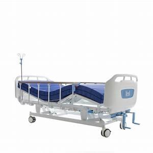 Hospital Bed - Manual - 3 Crank
