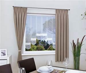 Gardinen Große Fensterfront : schmale gardinen f r kleine fenster mein ~ Michelbontemps.com Haus und Dekorationen