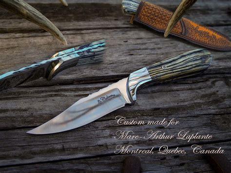 handmade custom knives customer