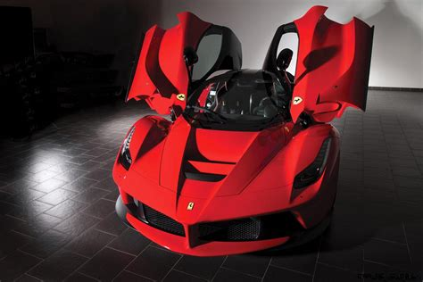 driven  ferrari laferrari joins rm sothebys