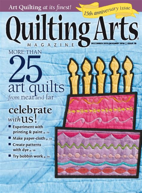 quilting arts cover  december issuejpg