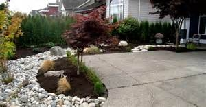 Outdoor Tree Planters by River Rock Landscape