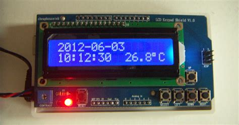 Cheaphousetek Freeduino Arduino Real Time Clock Sensor