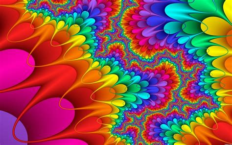 colorful trippy background  wallpaperscom