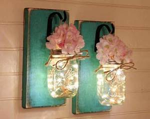 best 10 mason jar sconce ideas on pinterest mason jar With what kind of paint to use on kitchen cabinets for hanging candle holders uk