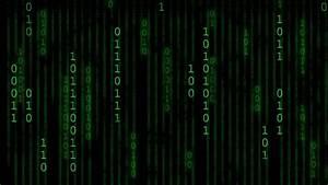 The Matrix Binary Code. Stock Footage Video 1054207 ...