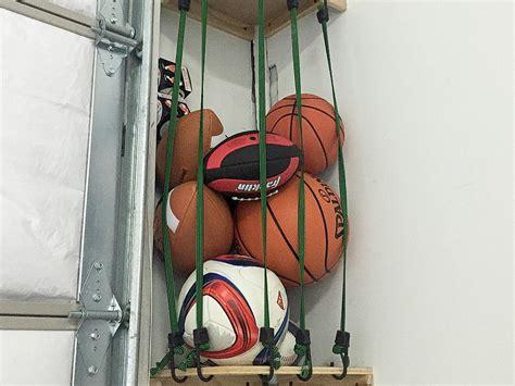 garage sports storage how to build sports equipment storage hgtv