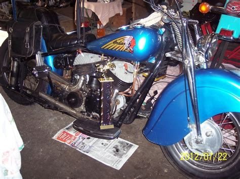 1948 Indian Chief Motorcycle From Kinsman, Oh,today Sale