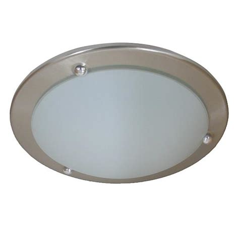 ceiling light polished chrome 310mm