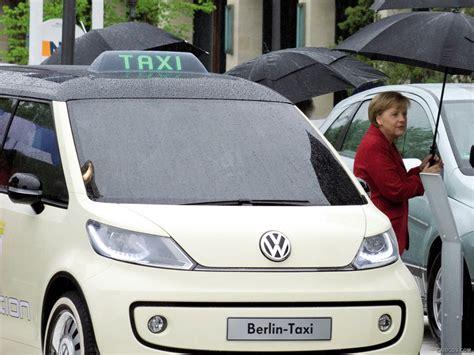 Volkswagen Berlin Taxi Concept Angela Merkel