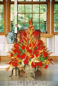 Pentecost Flower Arrangements