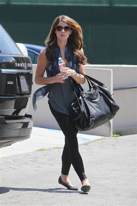 Ashley Greene Street Style - Out in Los Angeles - August ...