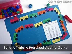 Build A Train: A Preschool Addition Game