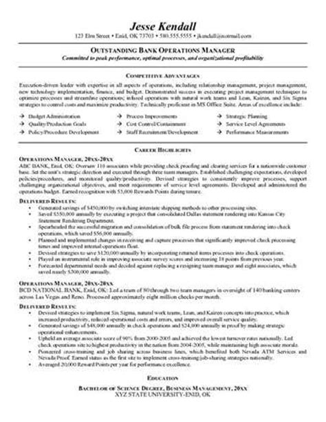here is link for this bank manager resume