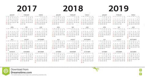 vector moldes calendario ilustracao vetor