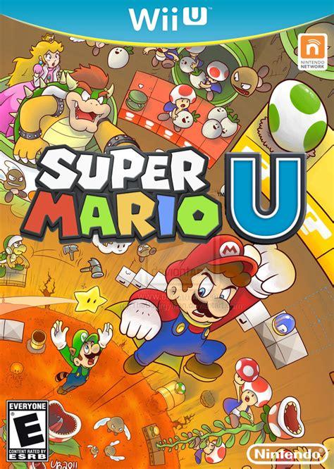 Gallery Of Wii U Mario Box Art Mockups Mario Party Legacy