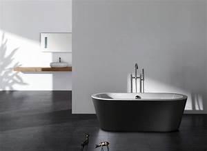Freistehende Badewanne Schwarz : freistehende badewanne belaqua acryl schwarz 180x85 inkl ab berlauf bs 887 ebay ~ Sanjose-hotels-ca.com Haus und Dekorationen