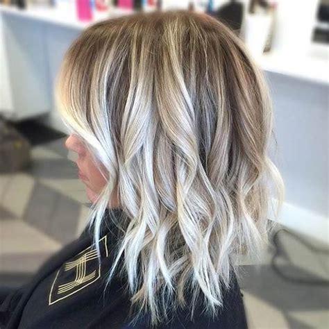 Ombré Hair Blond Polaire Balayage Coupe Carr 233 E Selon Les Derni 232 Res Tendances Coiffure 2017 Cheveux Id 233 E Couleur