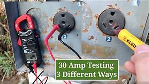 Quick 30 Amp Outlet Check  How To Test A 30 Amp Rv Shore
