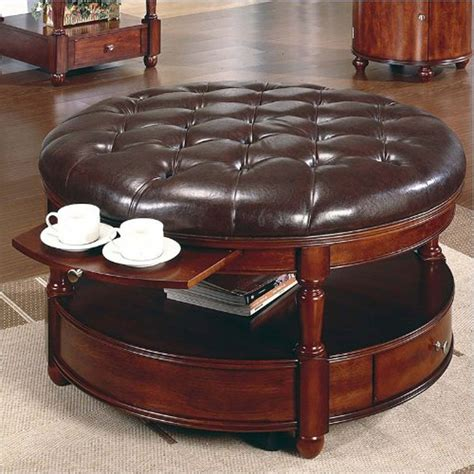 round ottomans for sale 10 top round leather ottoman coffee table for sale