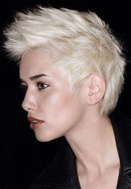 Short Blonde Mohawk Hairstyle