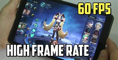 How To Enable Mobile Legends High Frame Rate Mode On