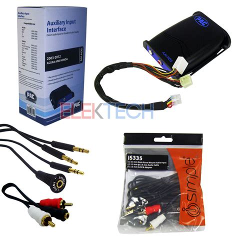 Auxiliary Adapter For Car by Car Audio Auxiliary Input Interface Adapter Aux Rca